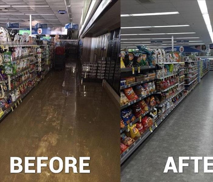commercial water damage in Washington NJ, Before