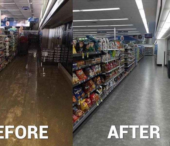commercial water damage in Washington NJ, After