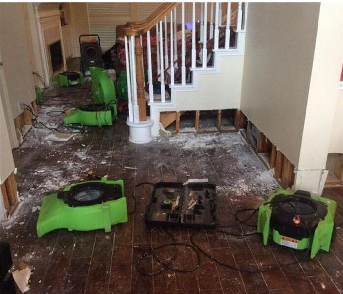 Water damage in Woolwich NJ.