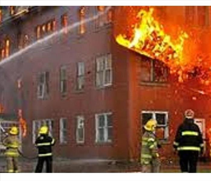 Commercial Fire damage in Woolwich NJ, Fire Damage in Woolwich NJ,